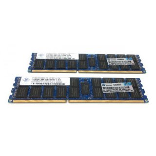 32GB Kit / 2x 16GB DDR3 1333MHz PC3L-10600R Server RAM Nanya / HP 628974-081 2Rx4