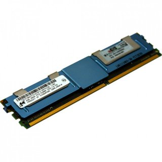 4GB / 4096MB PC2-5300F 2Rx4 Micron FB-DIMM