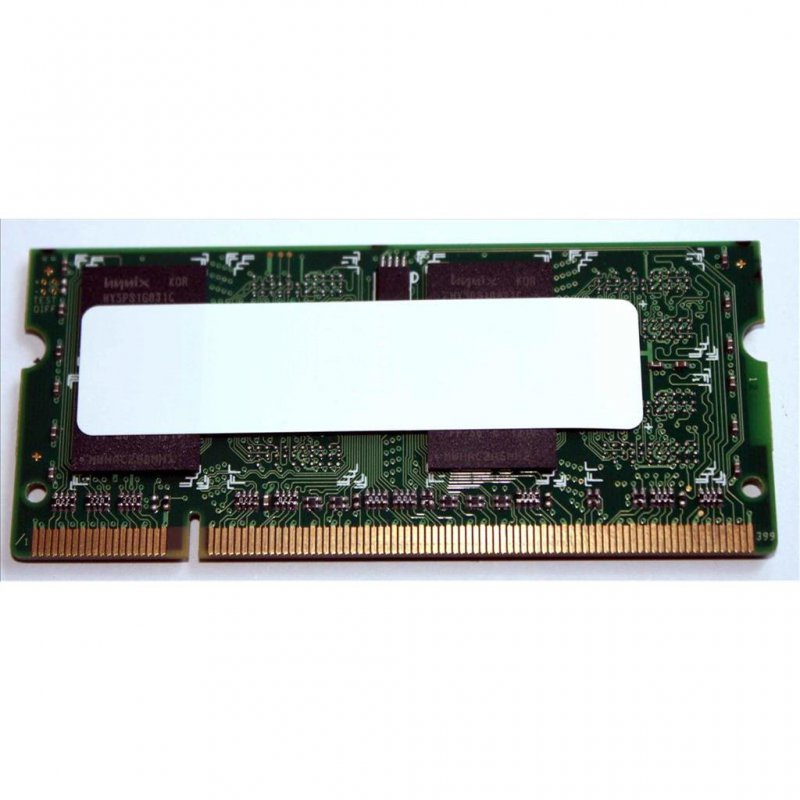1GB / 1024MB DDR2 800MHz PC-6400S SO-DIMM 200-pin OEM Single Rank 128Mx8 4 Chips je Seite