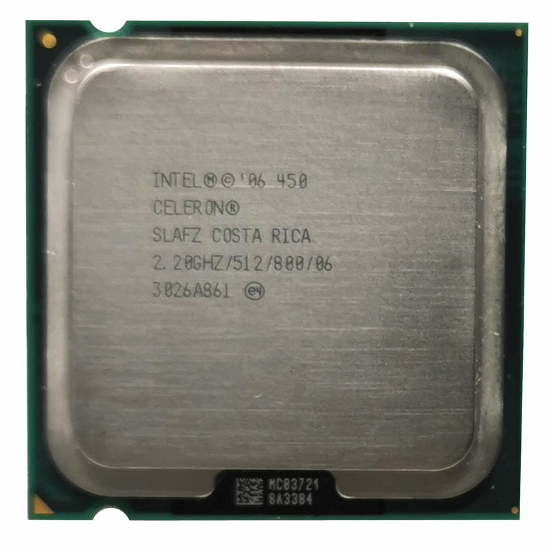 CPU Intel 775 Celeron 2,2 GHz 450 Tray / SLAFZ