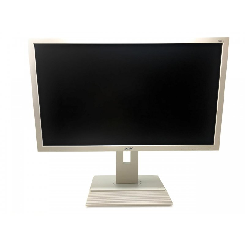 Acer Business B6 B246HLwmdr (UM.FB6EE.017) 61,0 cm 24 Zoll LCD TFT beige / grau FULL HD LED 1920 x 1200 A-Ware