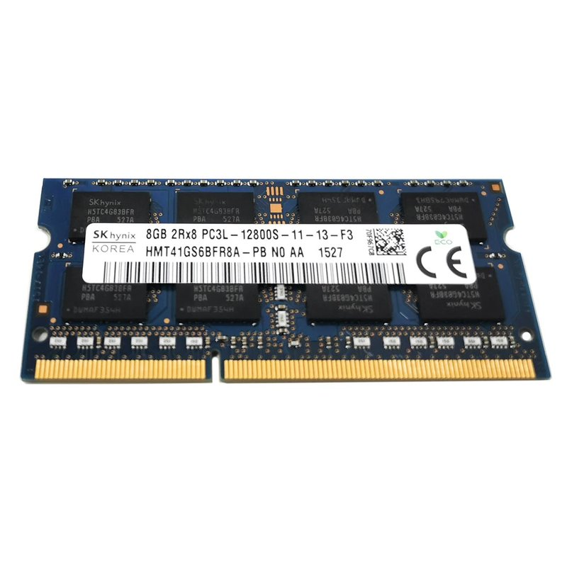 Hynix 8GB DDR3 1600MHz PC3L-12800S SO-DIMM 204-pin 2Rx8 / low Voltage 1,35 V